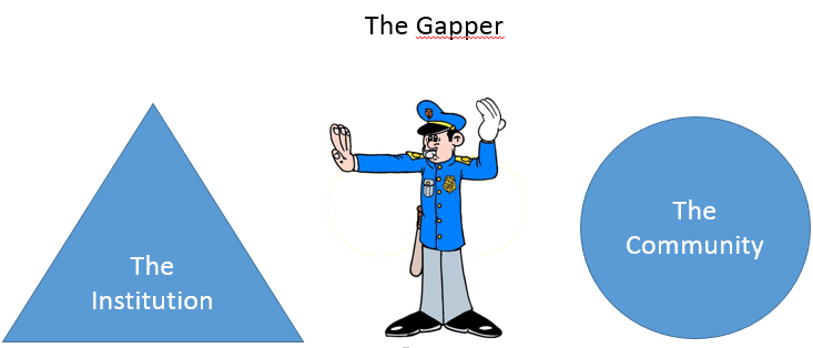 Mind the Gap : An Ode to Gappers Everywhere