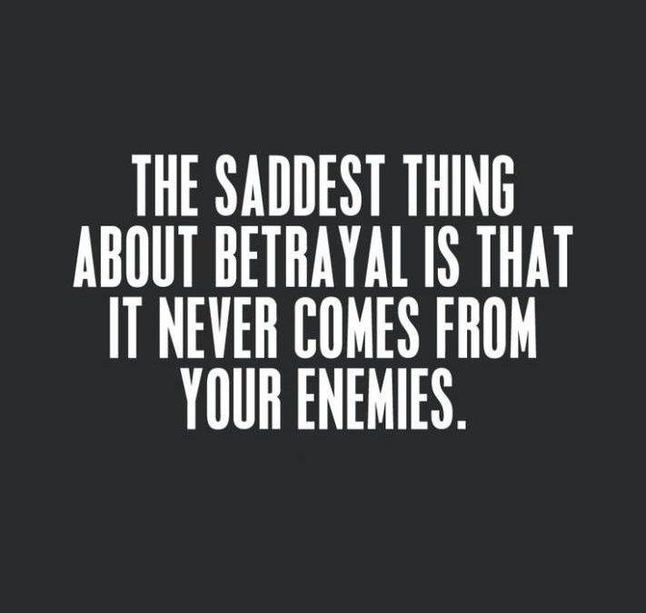 Choosing Betrayal
